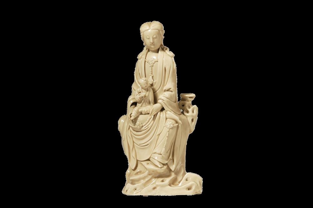 Der Bodhisattva des Mitgefühls als Bringer von Söhnen