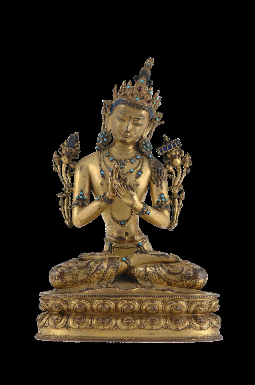 Manjushri, der Bodhisattva der Weisheit