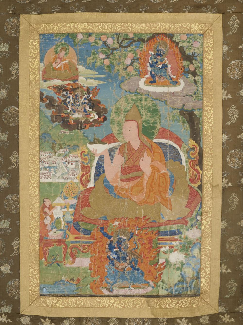 Der 4. Dalai Lama Yonten Gyatso (1589–1617)