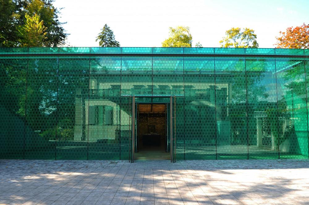 Museum Rietberg, The Emerald, Entrance
