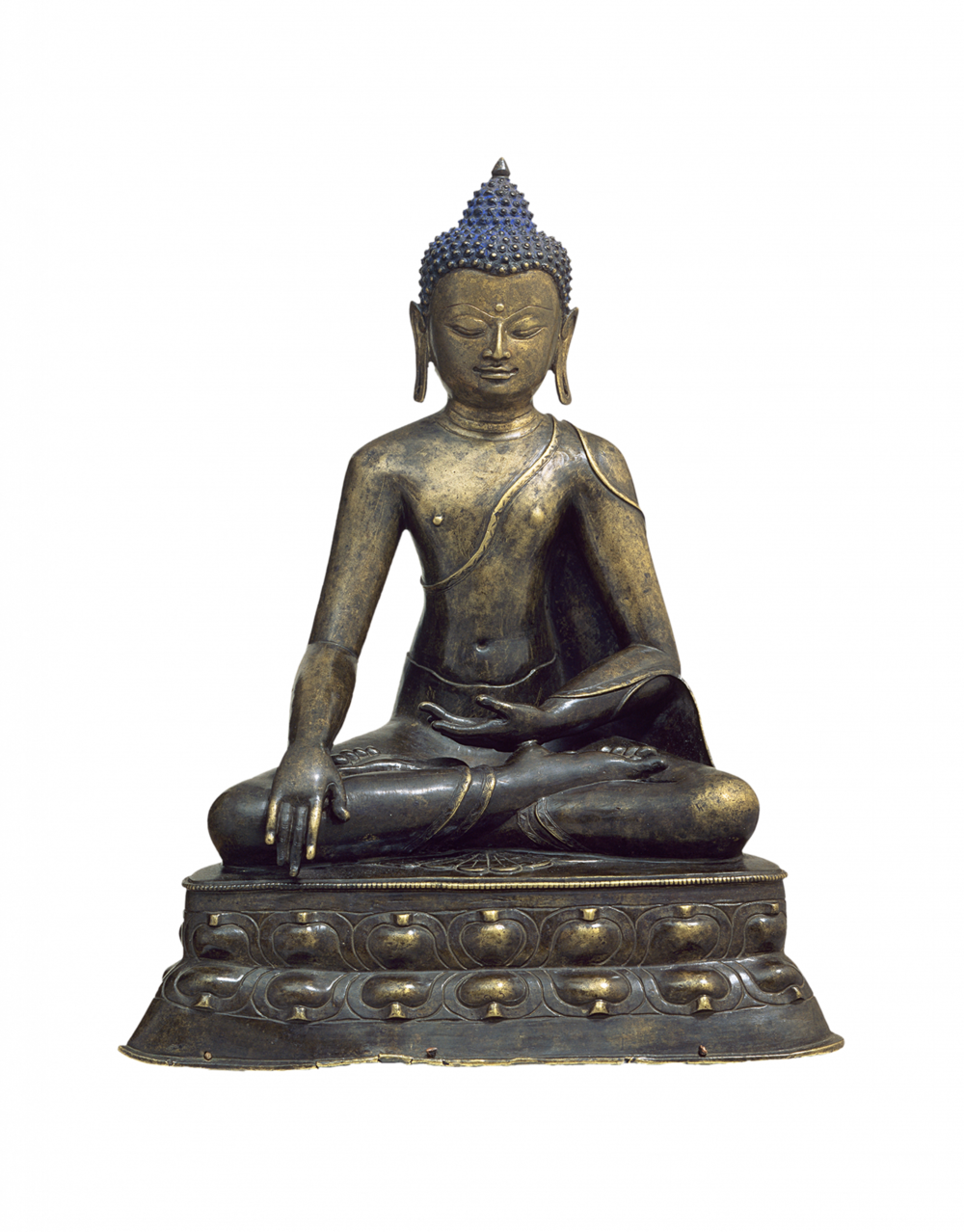 Buddha Shakyamuni mit Geste des Erwachens