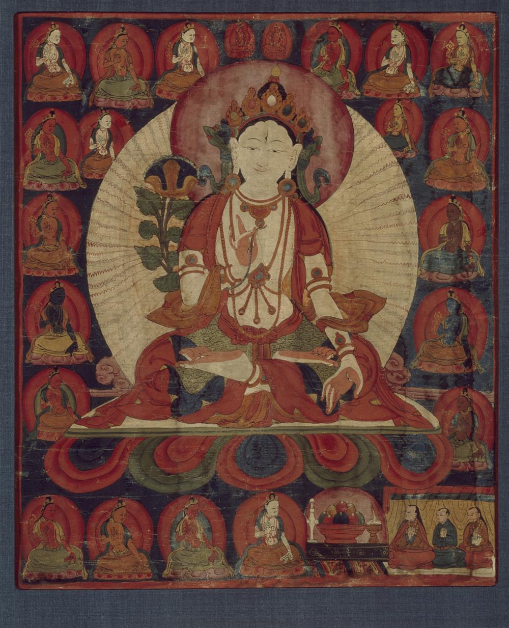 Thangka der 21 Taras
