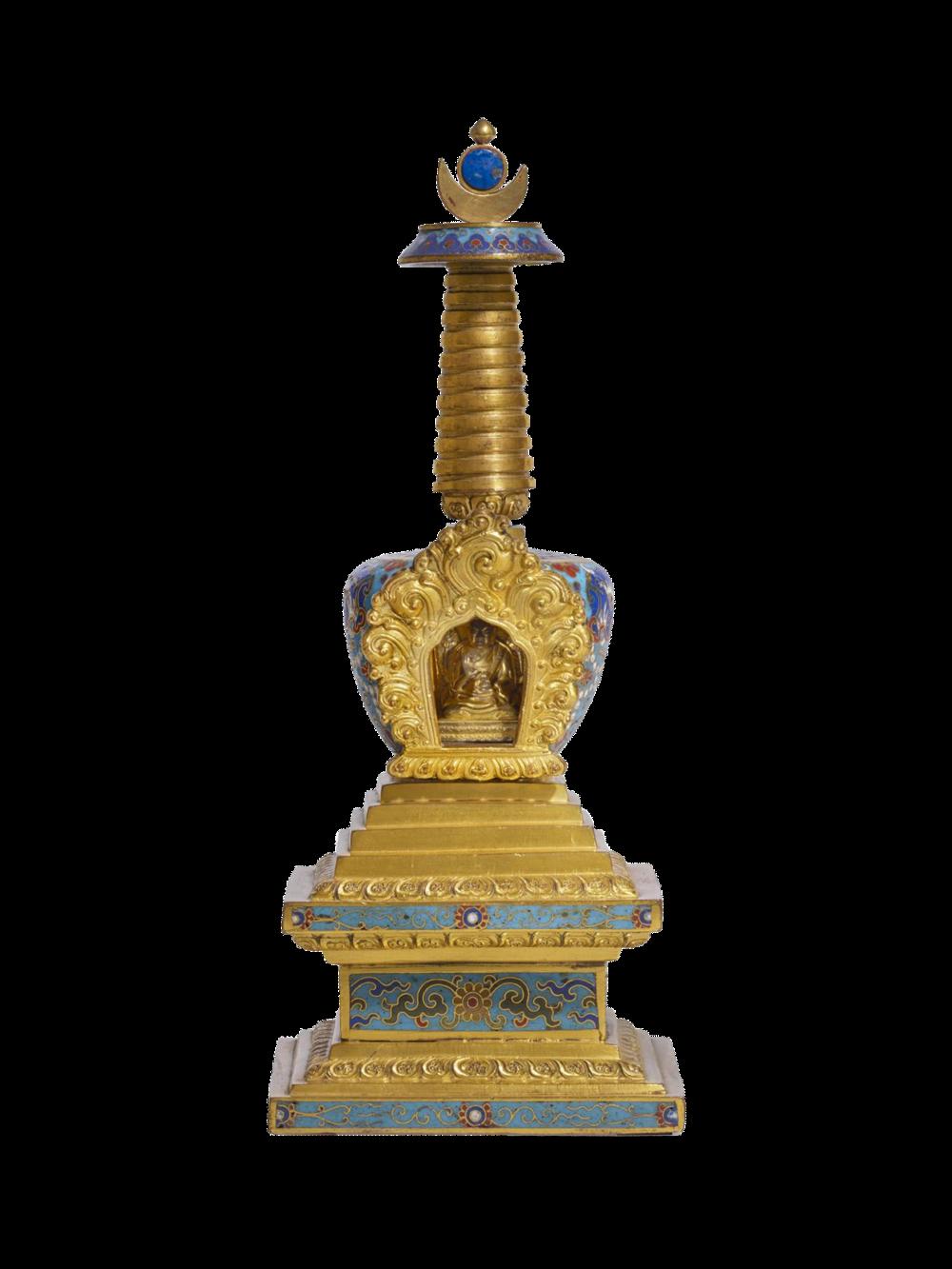 Grosser Votiv-Stupa
