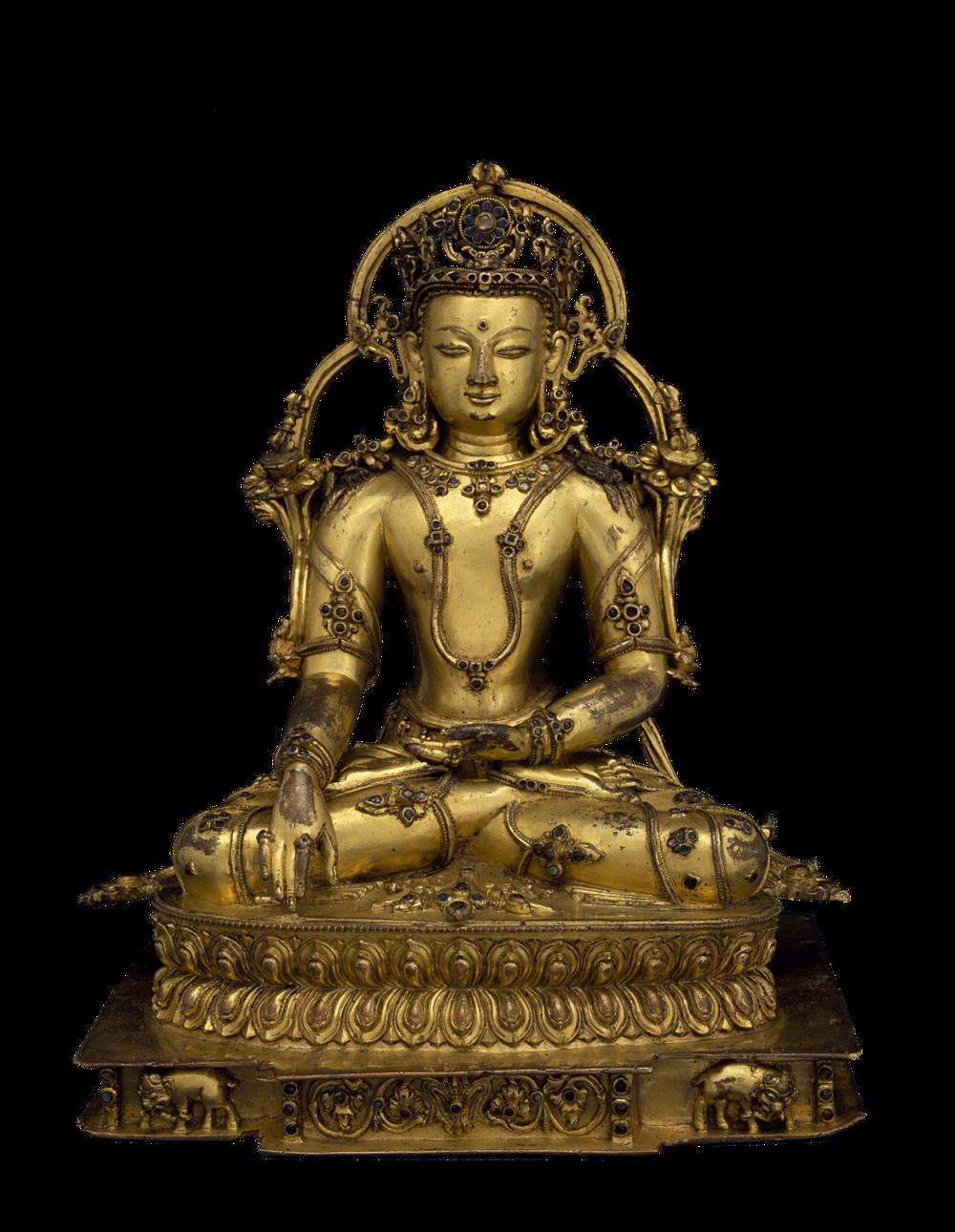 Der transzendente Buddha Akshobhya