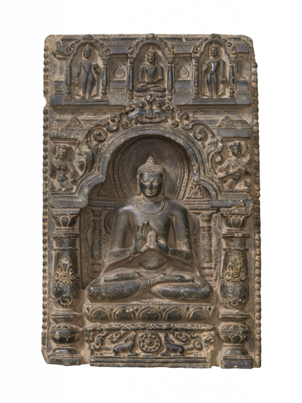 Der Buddha beginnt zu lehren