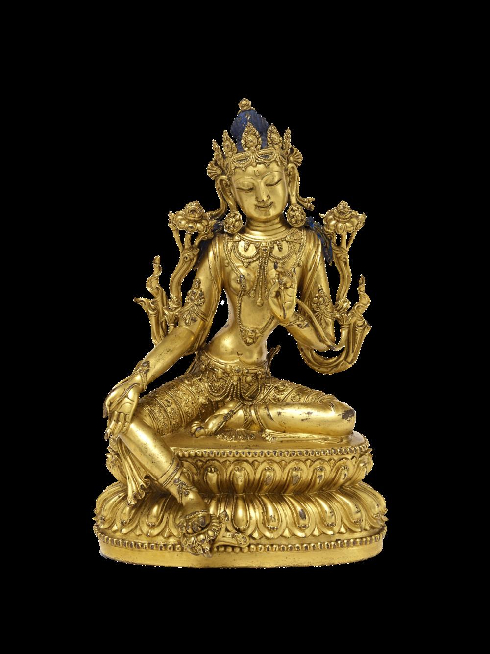 Shyamatara, die Grüne Tara