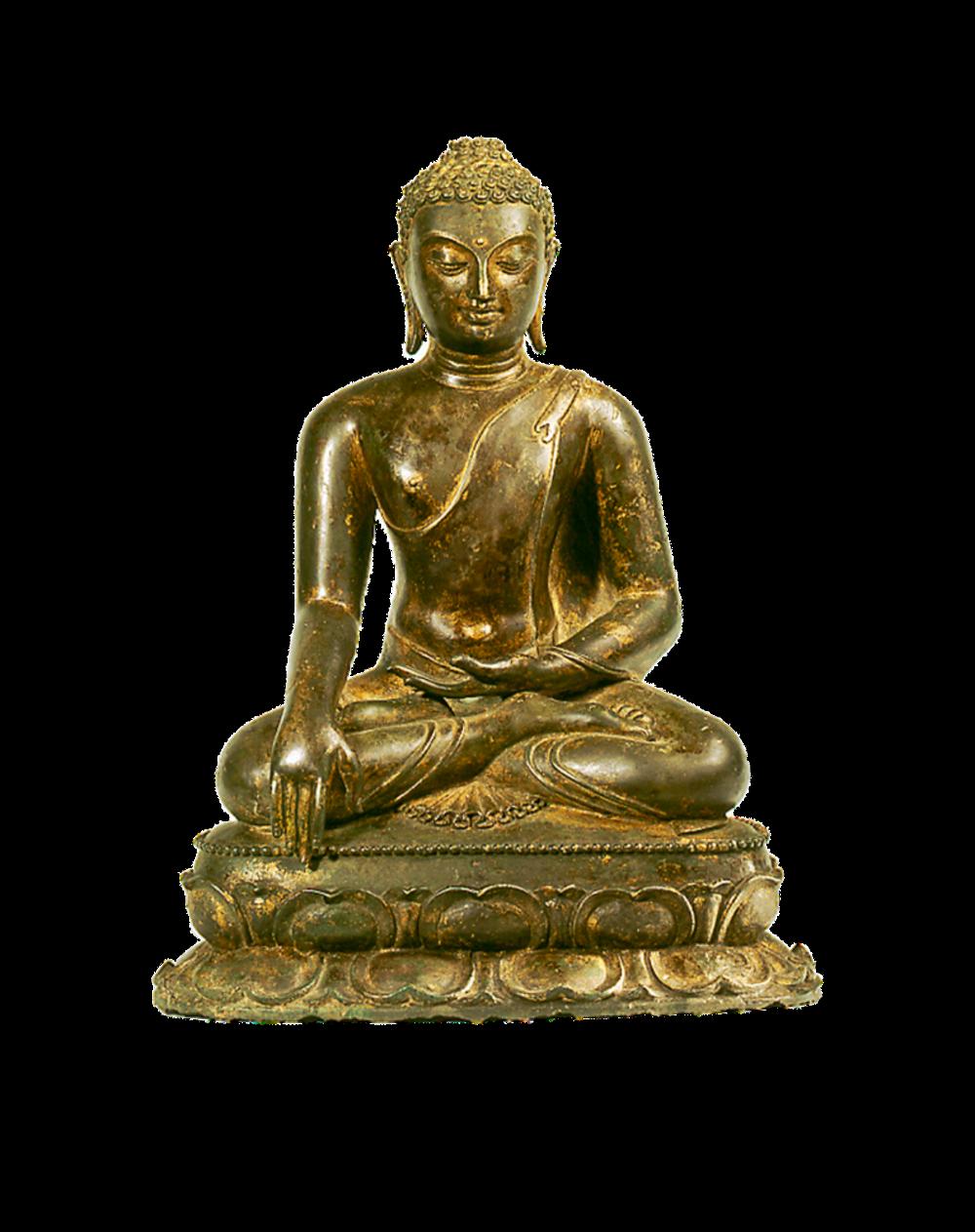 Buddha Shakyamuni im Moment des Erwachens
