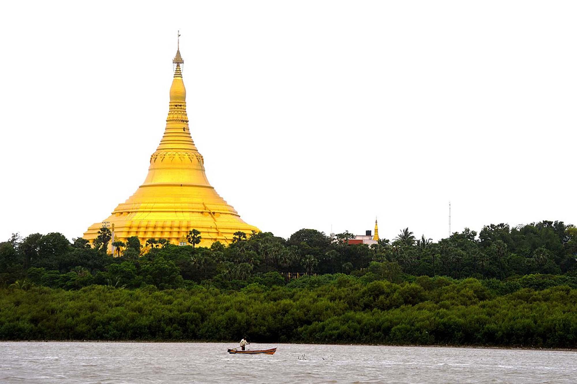 Global Vipassana Pagoda, Mumbai, India
