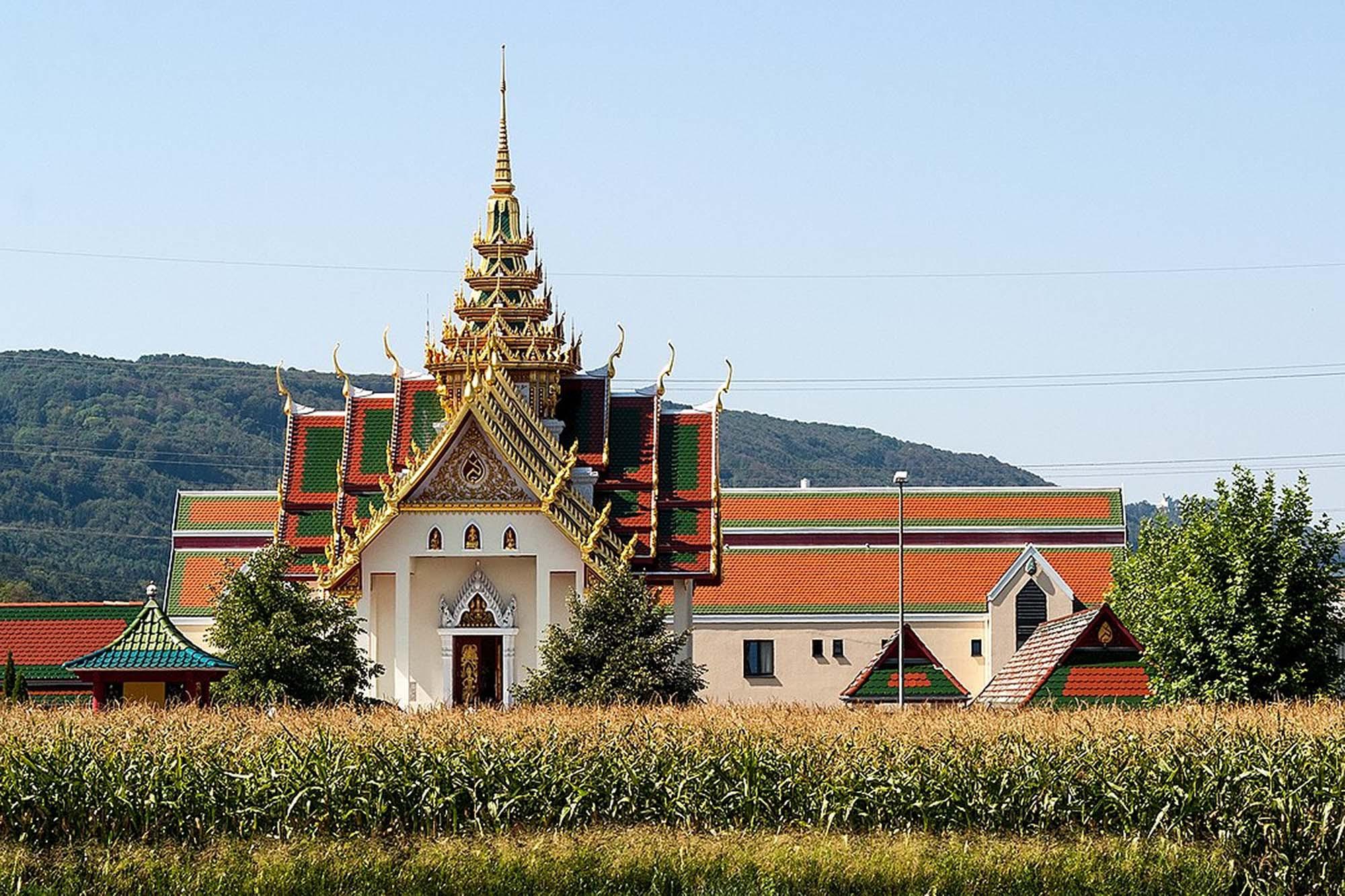 Thai Buddhist temple, Gretzenbach, Switzerland