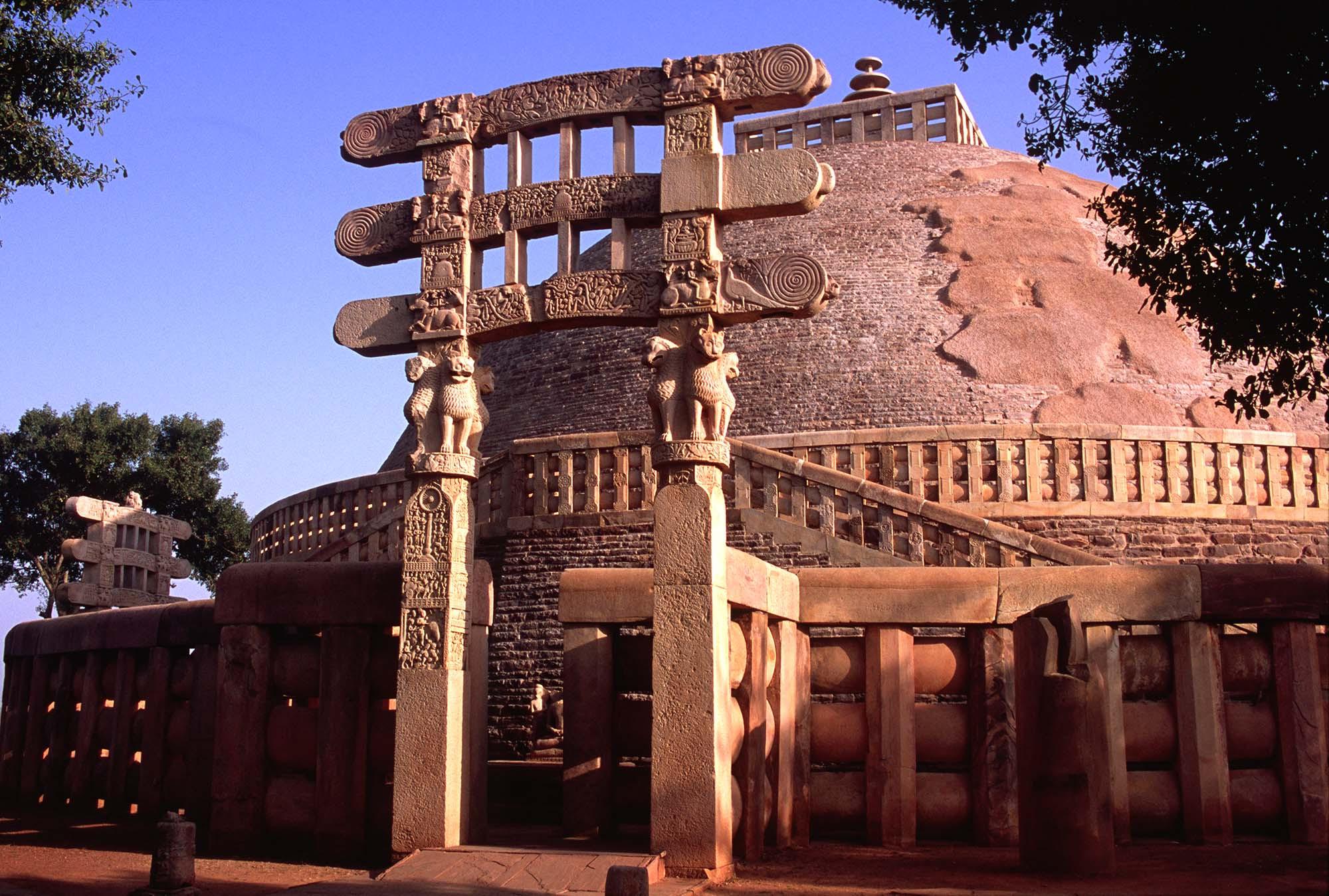 The Great Stupa of Sanchi, Sanchi, India