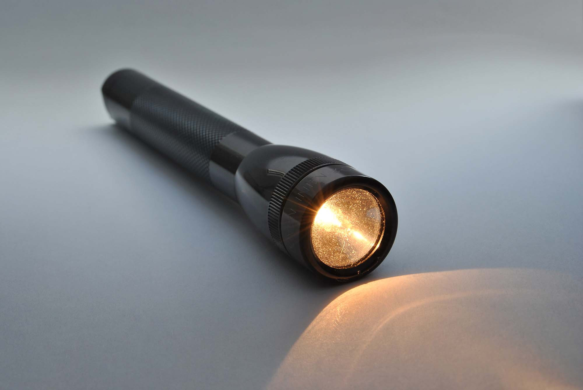 Shining torch