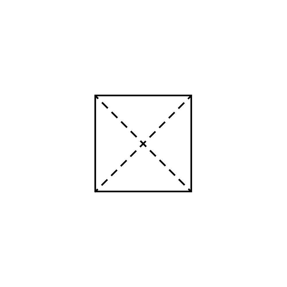 Lotus Folding Guide: Step 1