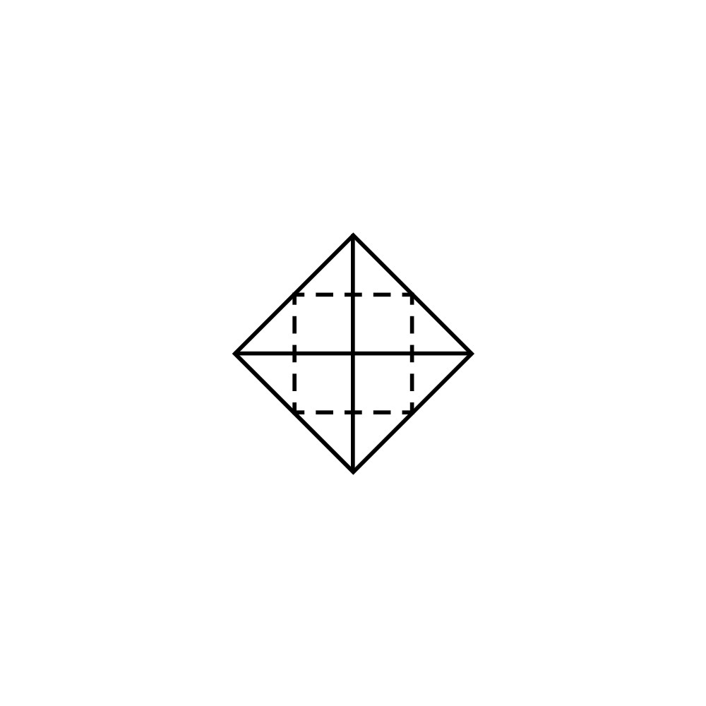 Lotus Folding Guide: Step 3