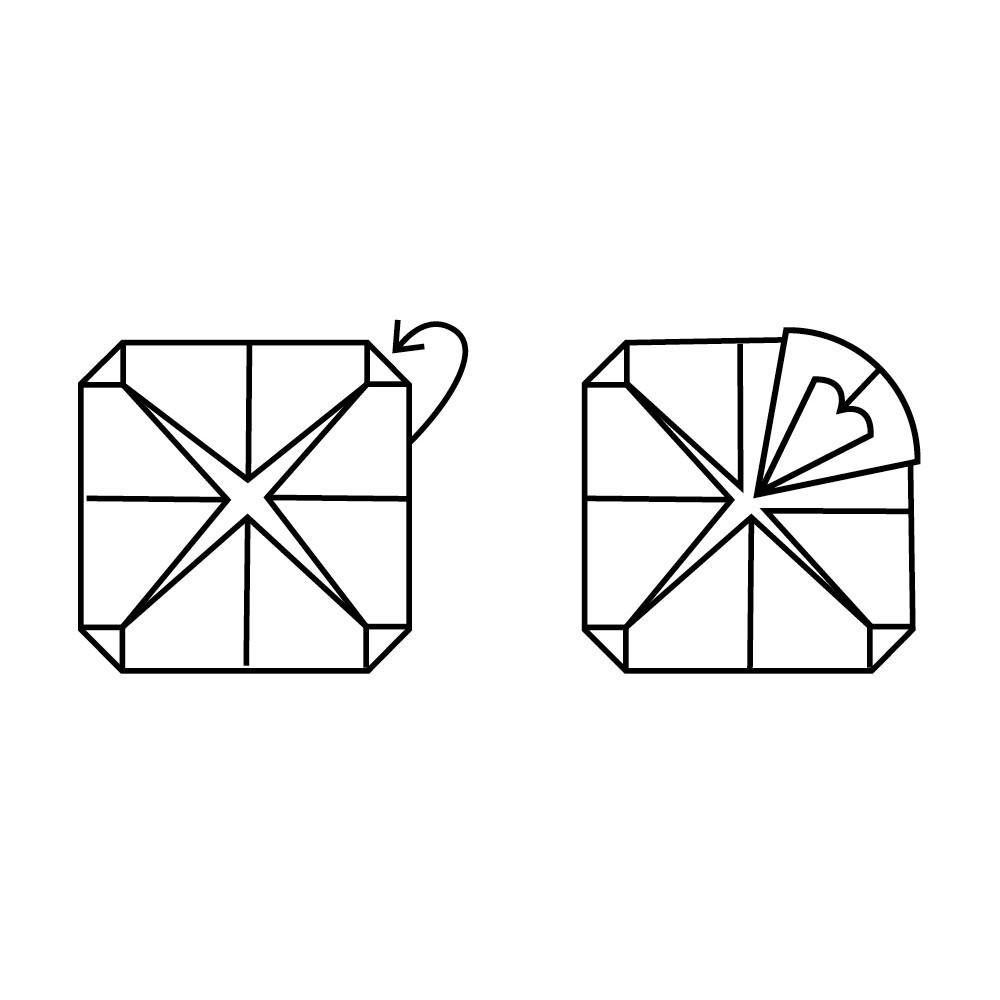 Lotus Folding Guide: Step 7