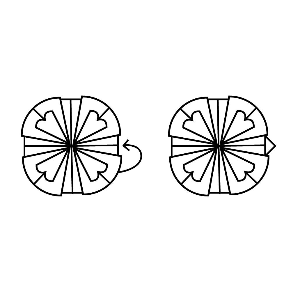 Lotus Folding Guide: Step 8