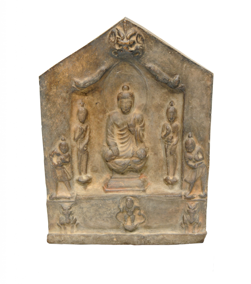 Buddhistische Votivtafel