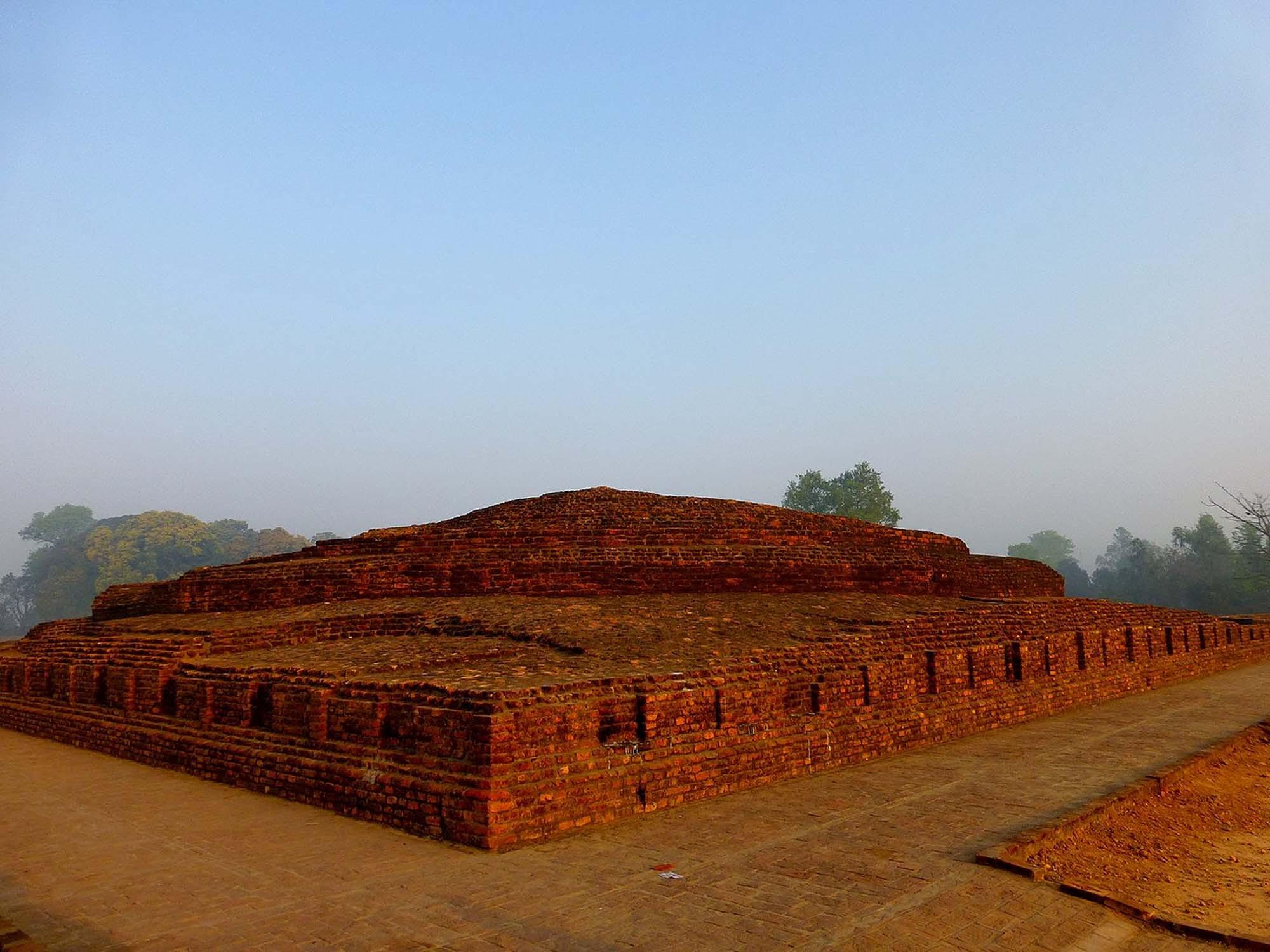Piprahwa stupa, Kapilavastu, northern India