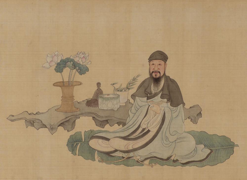 Die vier Freuden des Nan Shenglu (Detail)