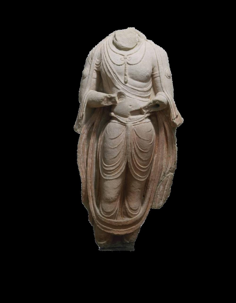 Stehender Bodhisattva