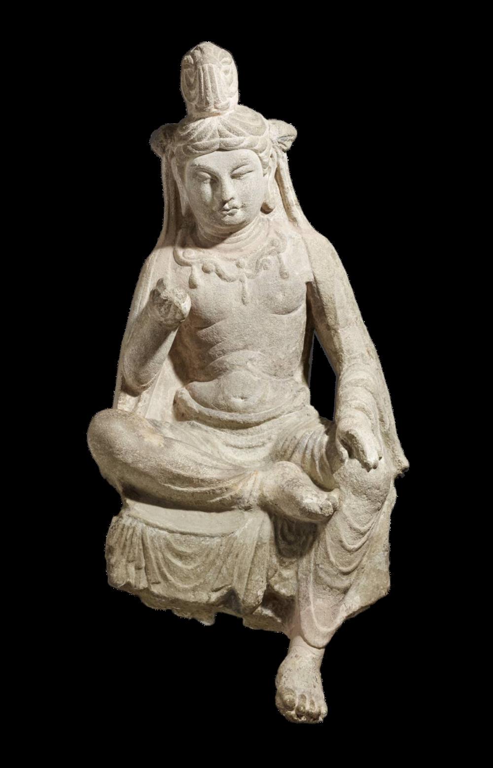 Sitzender Bodhisattva