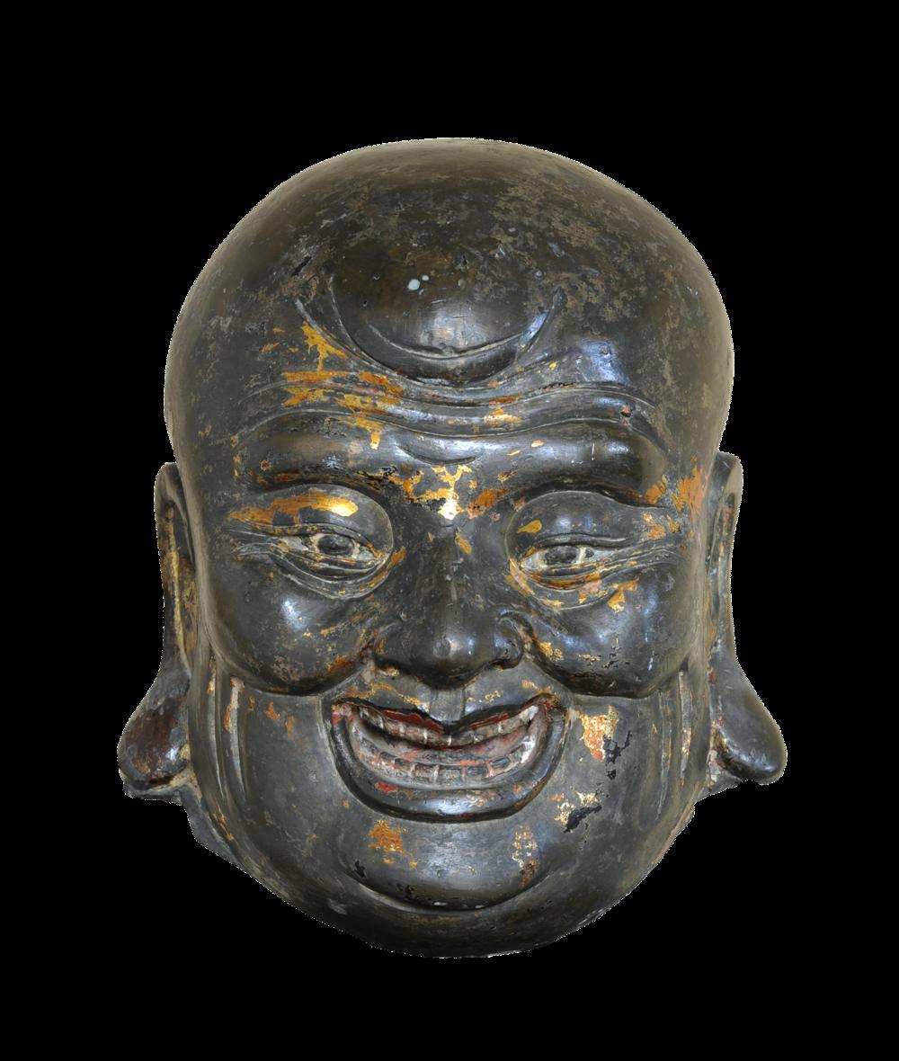 Kopf eines Mönchs