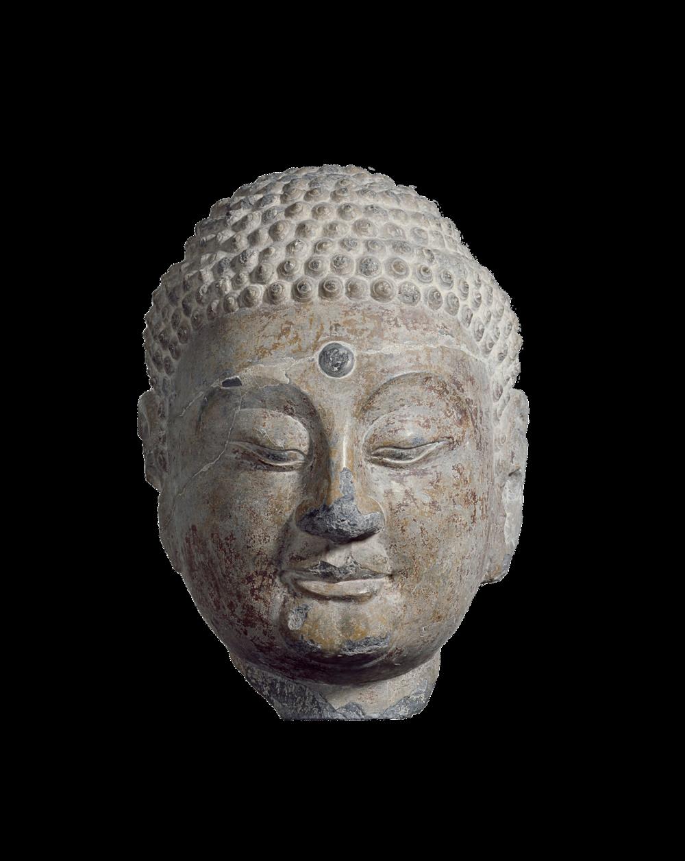 Kopf eines Buddhas