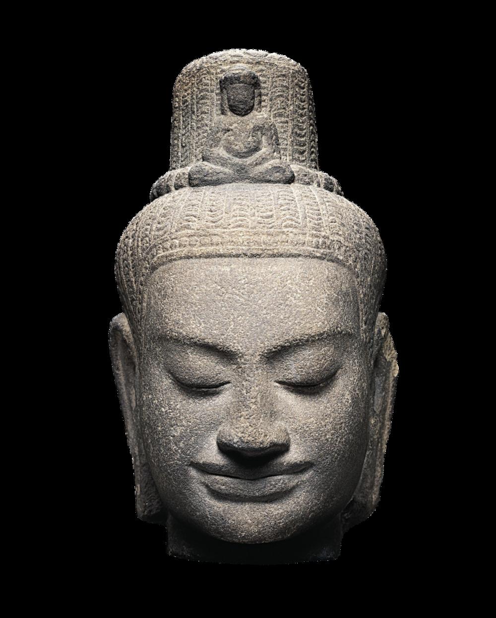 Kopf eines Lokeshvara