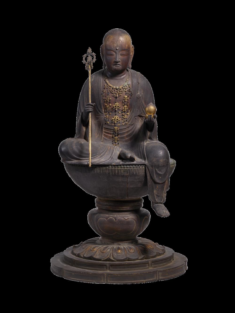 Jizo Bosatsu, Bodhisattva in der Gestalt eines Mönchs