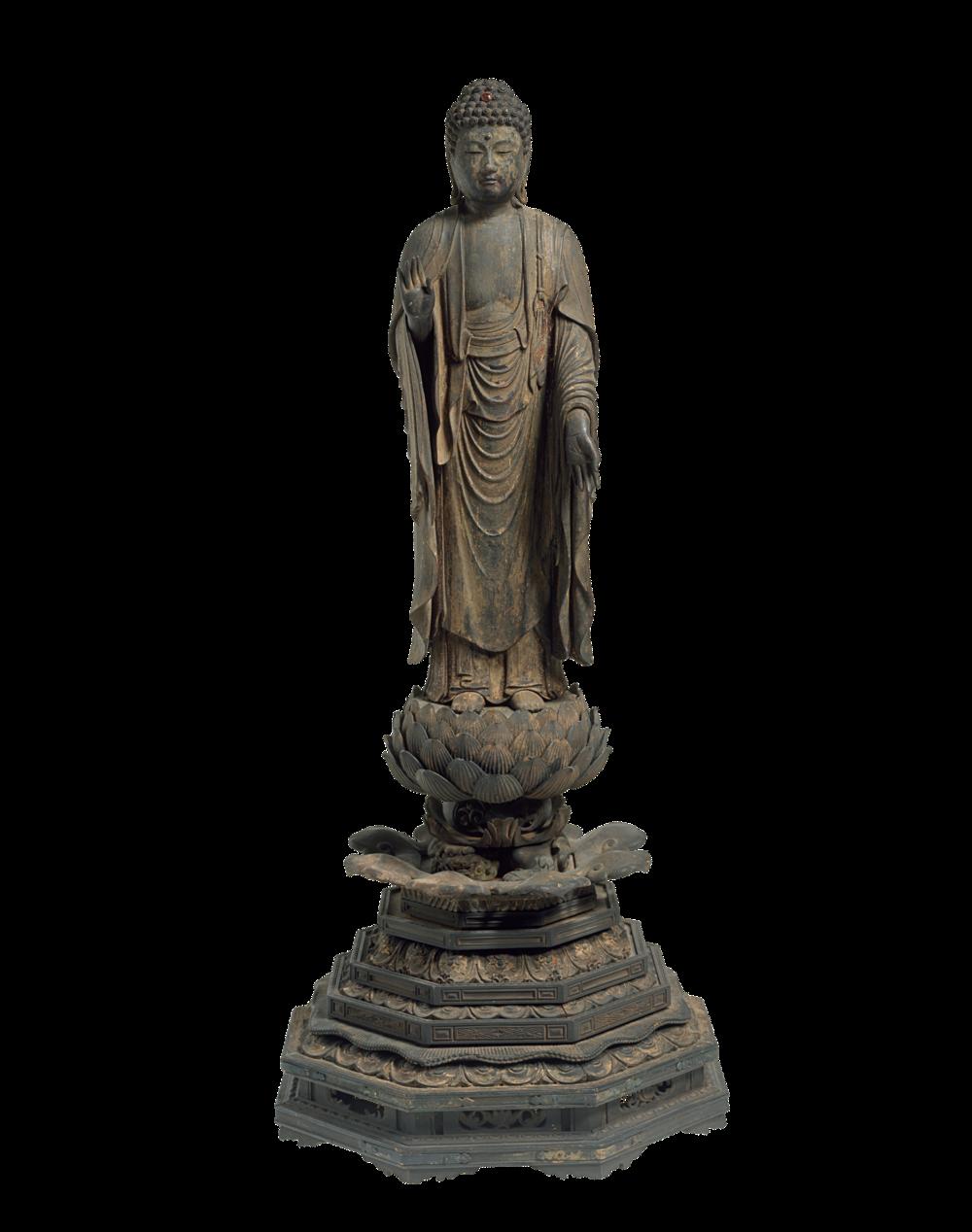 Shaka Nyorai, der historische Buddha