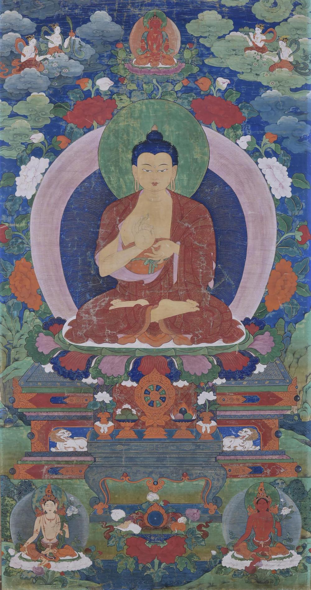 Buddha Dipankara, der Buddha der Vergangenheit