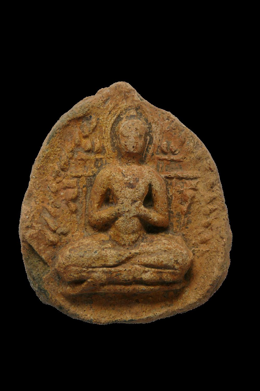 Plakette mit dem lehrenden Buddha